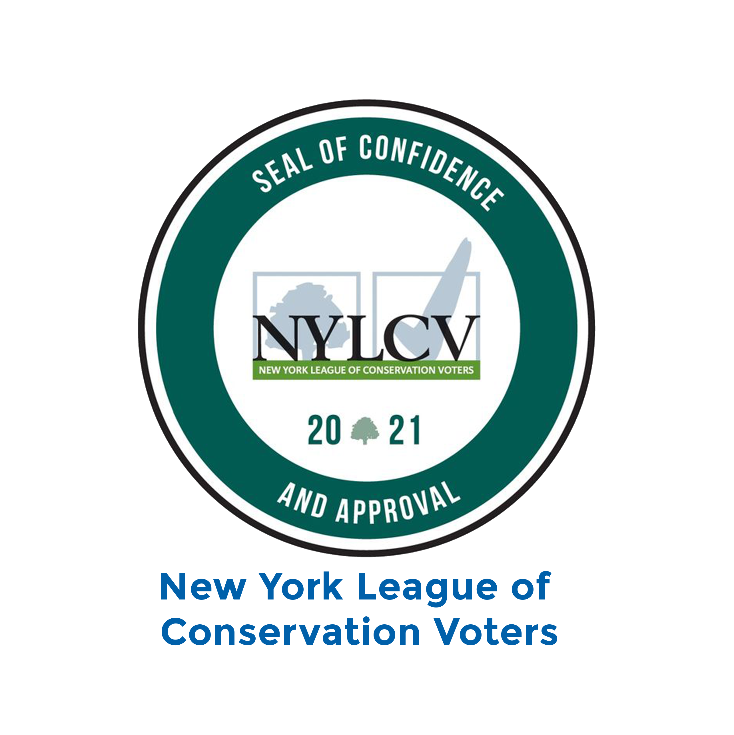 New York League of Conservation Voters logo